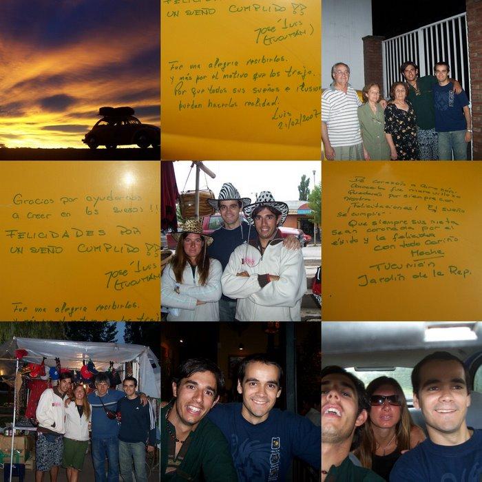 Tucumano amigo... Gracias Jose y flia!!!
