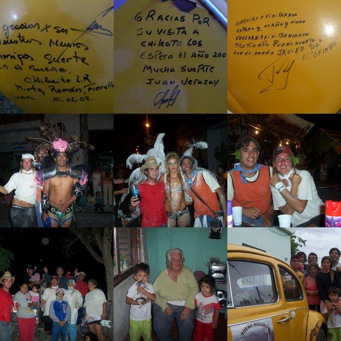 Chilecito, la Fiesta de la Chaya y nuestros amigos: Juan, Mirta y el Gringo