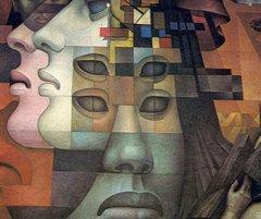 "Mural ""Presencia de America Latina"""