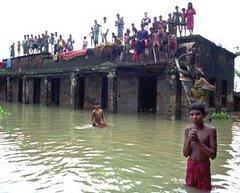 Inundaciones y pobreza