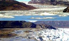Noticia de último momento, un lago en el sur de Chile desaparece