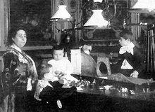 Marie-Louise LOUBET, née PICARD, épouse du Président LOUBET
