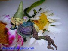 duendedú y las flores