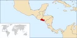 Ubicacion Geografica de El Salvador