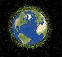 ? Qué es la basura espacial?