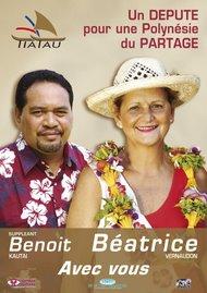 Un DEPUTE pour une Polynésie du PARTAGE