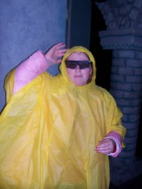 Me goofing off in the rain