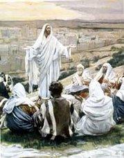 JESUS ENSEÑANDO