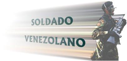 Soldado de la Republica de Venezuela
