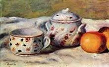 Nature morte au sucrier de Renoir