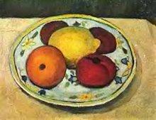 Nature morte avec citron de Paula Modersohn-Becker