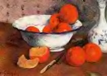 Nature morte aux oranges de Paul Gauguin