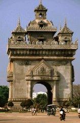 Patuxai, Vientiane Laos