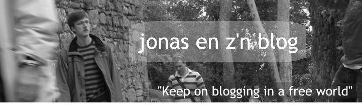 Jonas en z'n blog