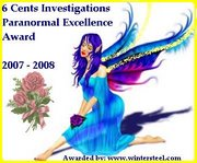 Paranormal Excellence Award
