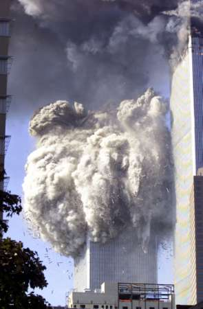 The South Tower on 9/11