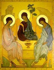 Rublev's Trinity (Visitation of Abraham)