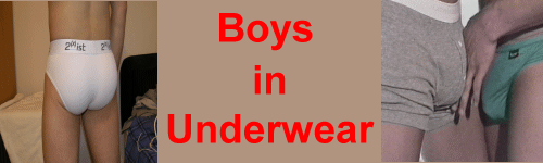 Boys in Underwear