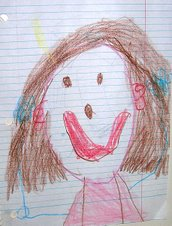 Portrait of Mommy Elysa by LG