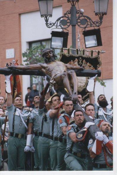El Cristo de la buena muerte y sus Caballeros Legionarios