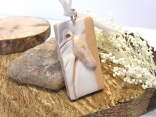 Greyhound in Profile Etched Pendant