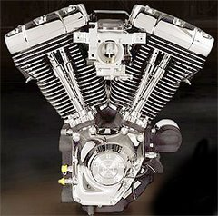 "ÚLTIMO MOTOR ""H-D"" EN 45º"