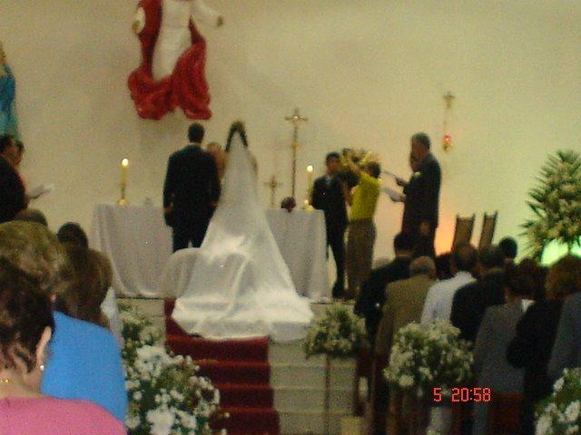 Casamento da Melissa- mai/07