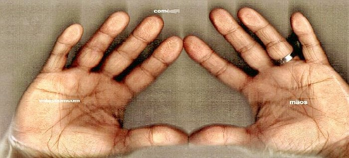 com estas mãos