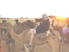 Camel ride in Egypt 2006