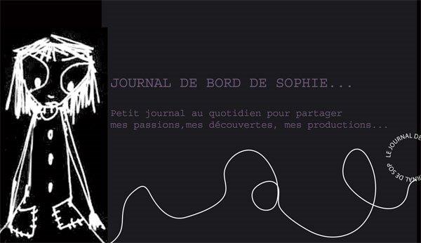 Journal de bord de sophie