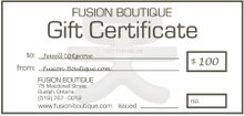 Give the Gift Of Fusion Boutique
