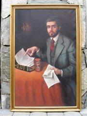 Retrato El vendedor de Seguros