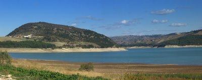 Guardialfiera, lago, diga, secca, acqua