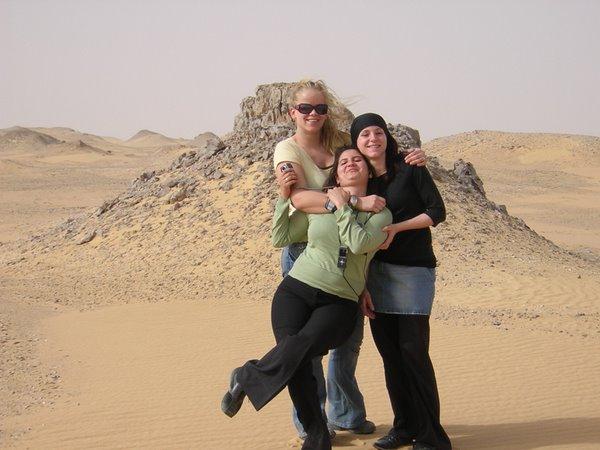 Leuk zo in de woestijn