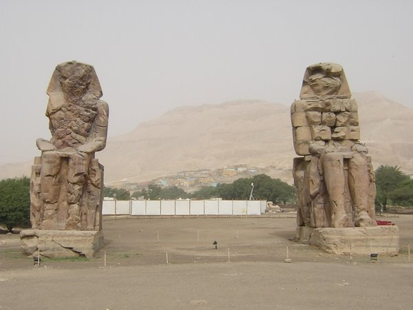 Memnonkolossen Luxor