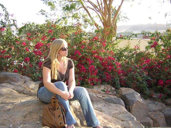 Botanische tuin Aswan