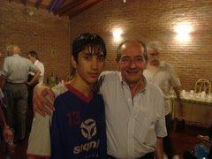 Con Rafael Savino