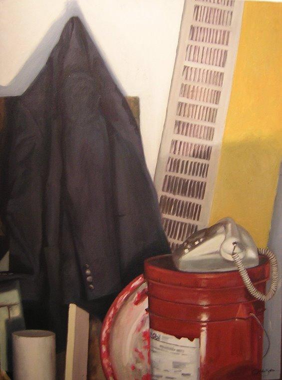 """""""Bodegón"""", óleo sobre tela"""