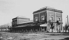 Antigua estación Ensenada - 1889