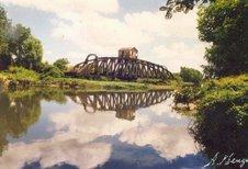 Puente giratorio sobre Canal Oeste