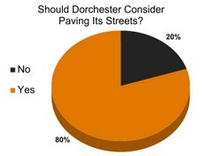 TIMES POLL: Time to Pave the Streets?