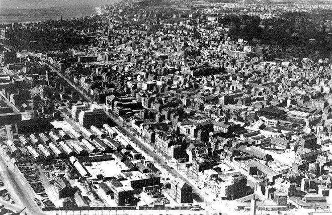 Vue du Havre et de la Cité