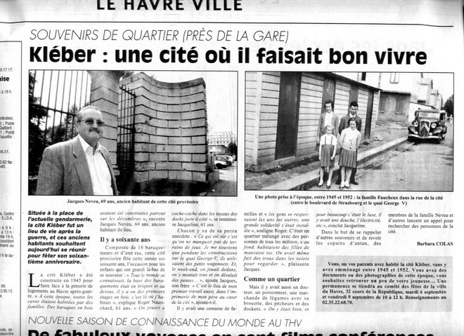Article Presse Havraise