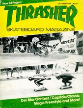 Thrasher Magazine Cover of The Capitola Classic 1981