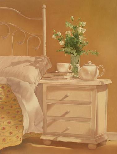 habitación con flores