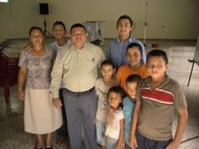 Pastor Jose & friends, El Salv.