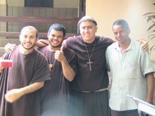 Franciscans in Crato (Brazil)