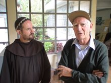 Irish Franciscans, both Fr Gerard!