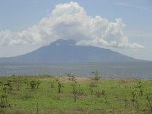 Lake Nicaragua & Vol. La Conception