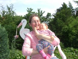 Johanna und Mama